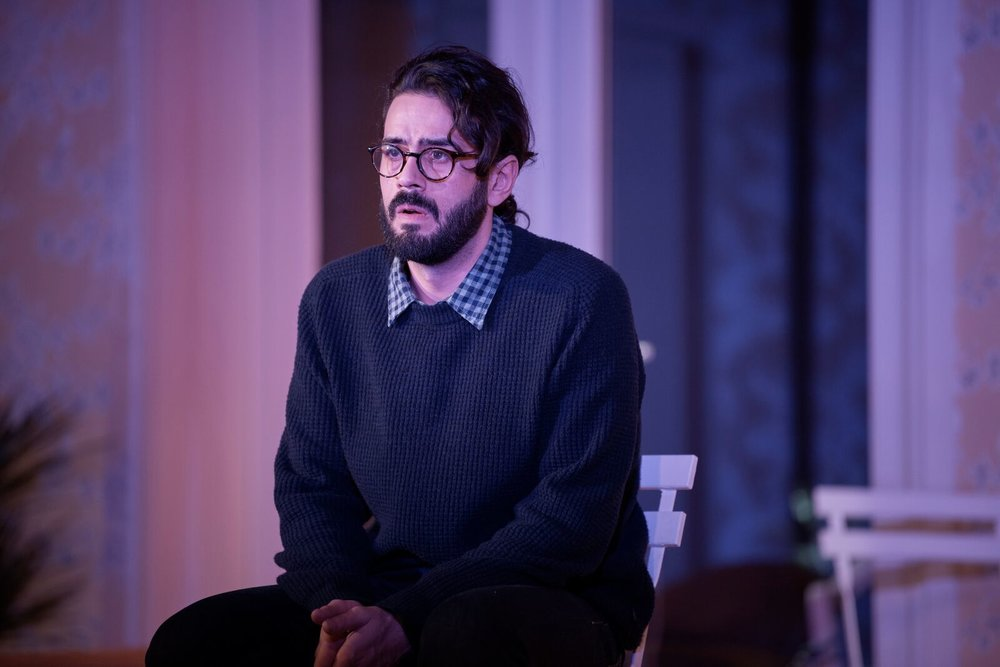 """"""" Bamshad Abedi-Amin as the hapless, well meaning Bill, is perfect as the powerless boyfriend trying to hold it all together. """"  The Arts Review"""