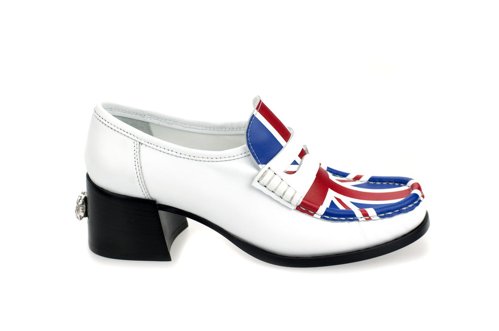 UNION JACK MOCCASIN