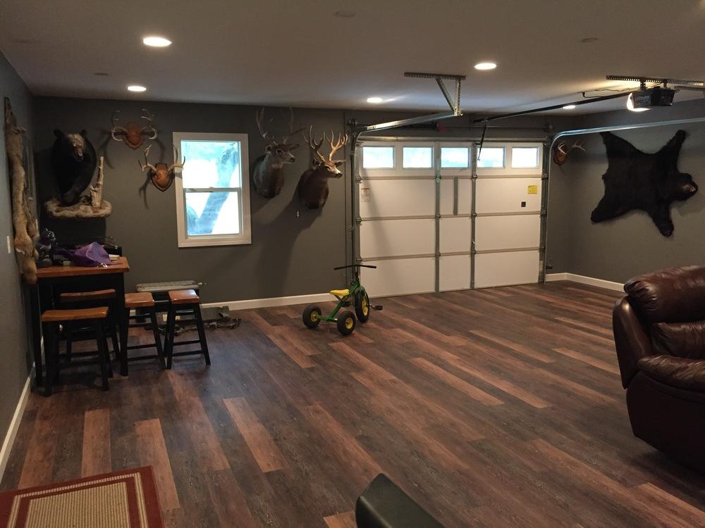 Man Cave Flooring : Man cave — duell construction