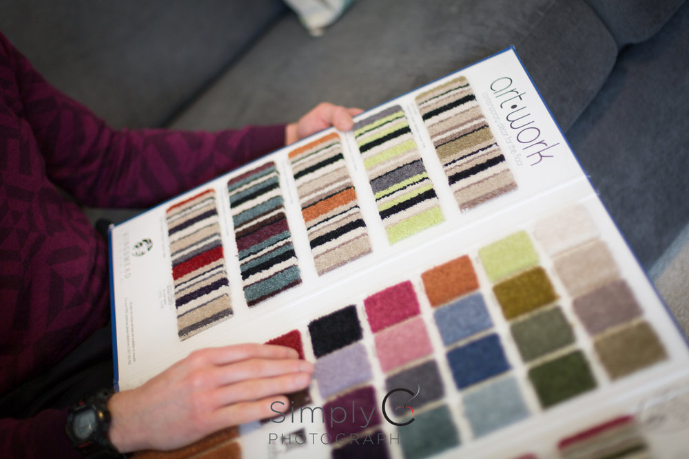 Allow customers to browse our samples in the comfort of their home.