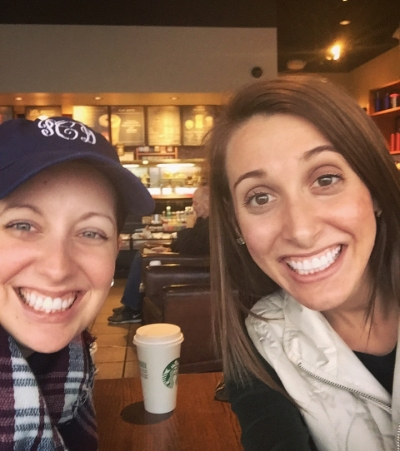 February 2016 Coffee Catch-Up with one of my favorite people in Waco