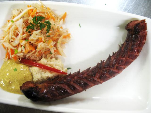 Grilled klobasa
