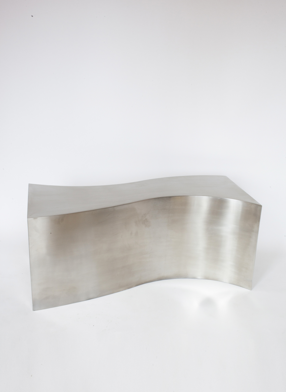 """FIT TABLE I RAW STEEL 42""""L x 19""""W x 18""""H PDF / 1STDIBS IN STOCK / MADE TO ORDER"""