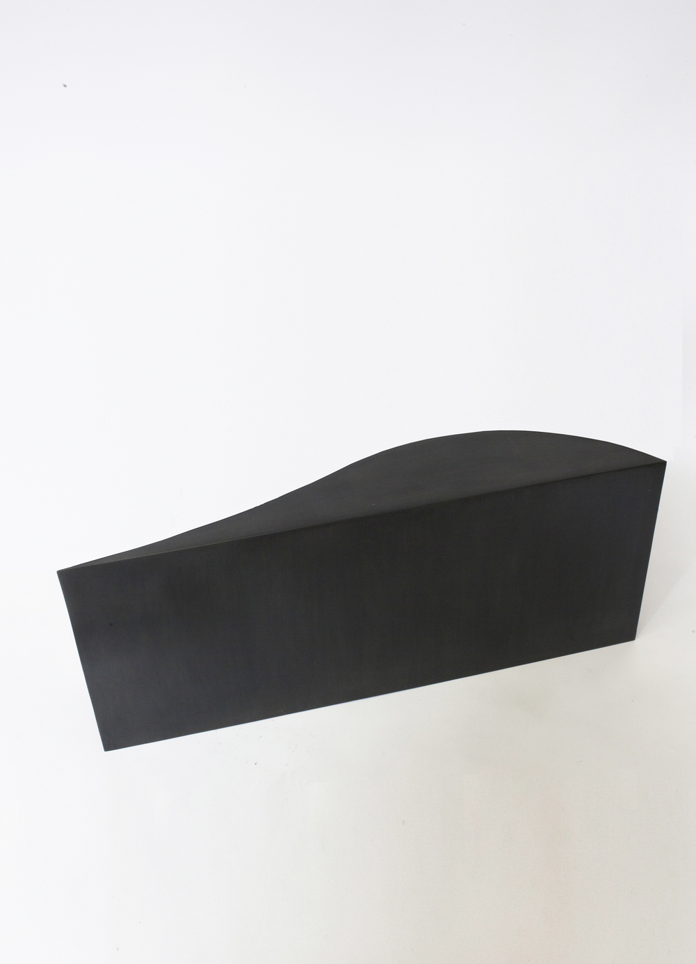 "FIT TABLE II BLACKENED STEEL 42""L x 7""W x 18""H   PDF   / 1STDIBS  IN STOCK / MADE TO ORDER"