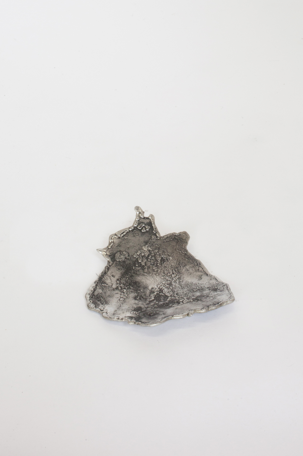 """PEWTER OBJECTS  1 of 1  PEWTER 5.5""""L x 4.5""""W   INQUIRE TO PURCHASE    IN STOCK"""