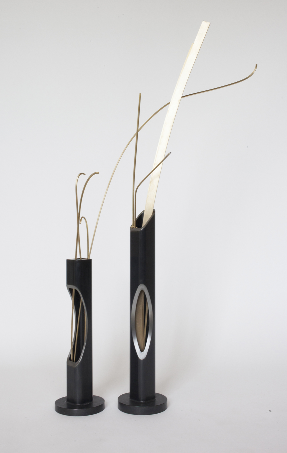 SLIT PLANTERS RAW STEEL VARYING DIMENSIONS 1STDIBS IN STOCK / MADE TO ORDER