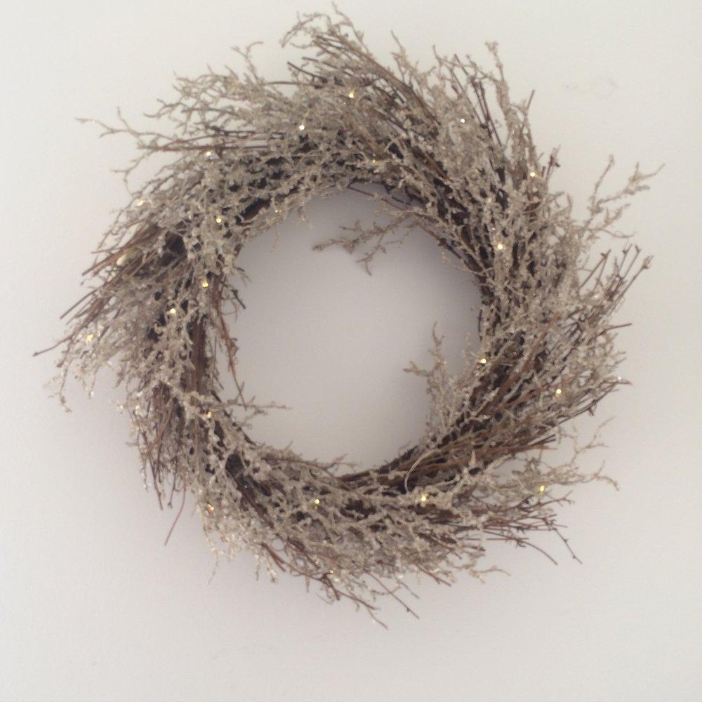 White Company Christmas wreath