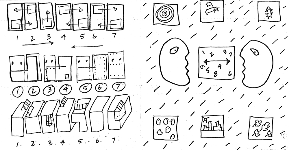 "Based specifically on the garden / earth-work sculpture and writings of Adam Purple, a Lower East Side poet, political activist and gardener, this housing project was a result of an invitation by the Storefront for Art and Architecture. The goal for this design proposal for one square block in Lower Manhattan, was to provide an alternative to the impending demolition of the garden and to suggest a way for new housing by the Lower Manhattan Development Agency. Our scheme proposes rocket-ship apartment towers and curling housing blocks that could ""land"" in various Manhattan neighborhoods. The circular forms evoke primal imagery, and are in contrast to the grid, thus suggestive of an organic sense of time. The collage of new urban typological infill was meant to set off a dialog different to that afforded by the traditional grid and to achieve neighborhood that would be singular in its identity - one filled with wonderment and nature."