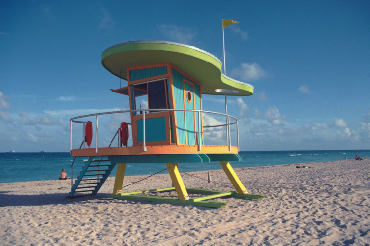 SOUTH BEACH LIFEGUARD TOWERS