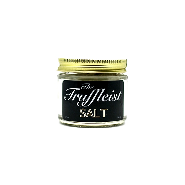 The Salt:   Hand harvested French grey sea salt with black summer truffles.