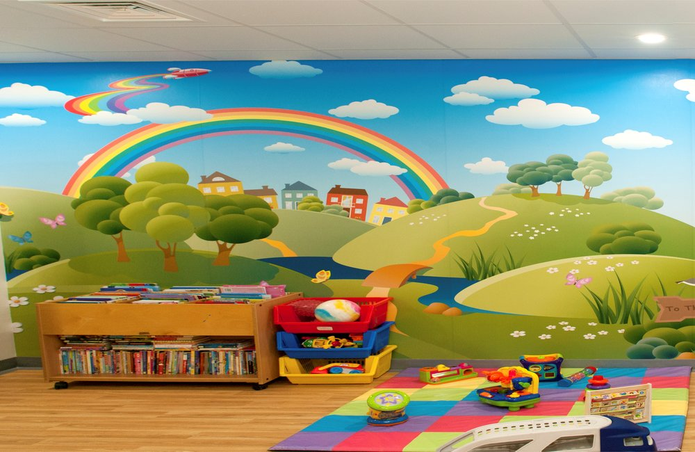 Children's Cancer Ward Playroom