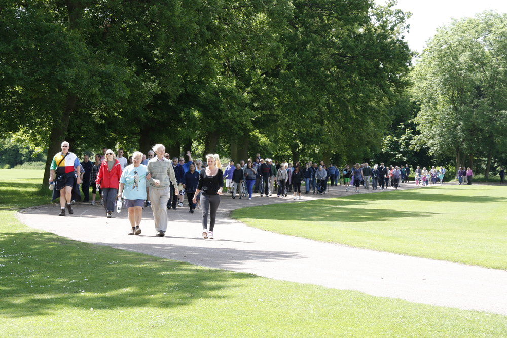 Join this fun, family-friendly 5km walk!
