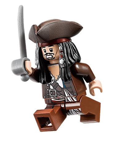 Lego Jack Sparrow to the rescue.