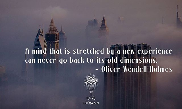 A mind that is stretched by a new experience can never go back to its old dimensions.  #spiritual #faith #faithful #socialenvy #wearabletherapy #god #grace #pray #prayers #praying #amen #believe #spirituality #trust #peace #calm #mind #soul #hope #destiny #wisdom #compassion #forgiveness #meditation #life #meditate #guidance #hk #hkig