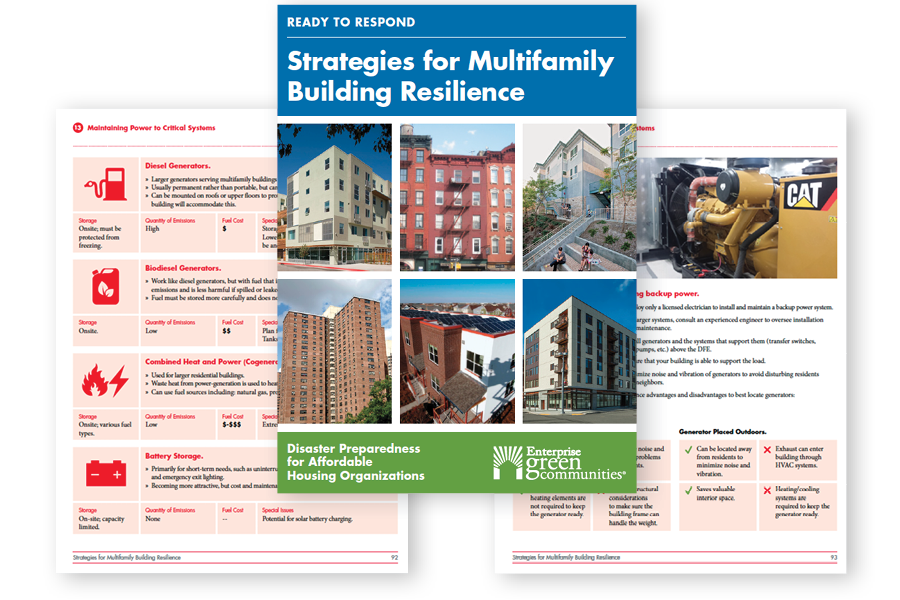 Strategies for Multifamily Building Resilience Manual by Linnean Solutions