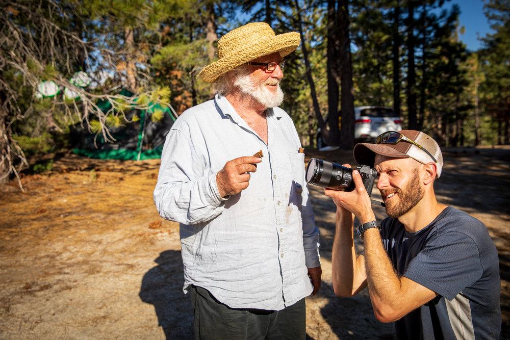 Cinematographer Matt Talarico on assignment. ©IML