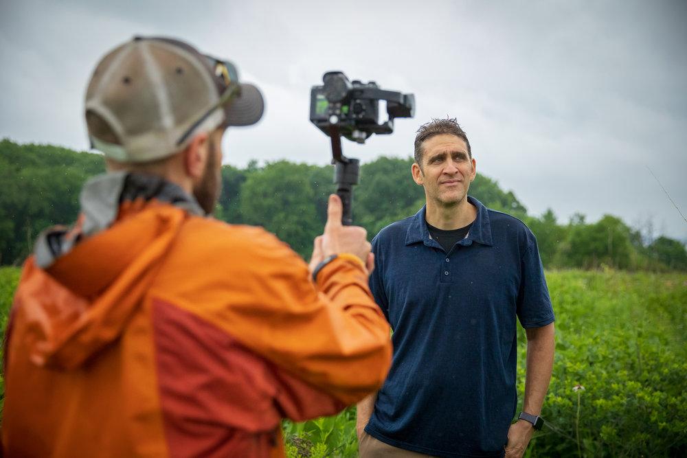 Impact Media Lab filmmaker Matt Talarico on assignment © IML 2018.
