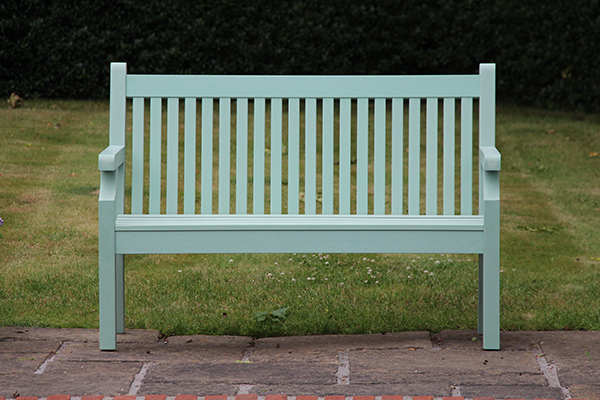 Sandwick 2 Seater Bench in Duck Egg Green RRP: £319.00