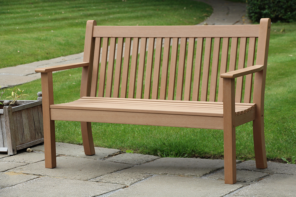 Colvister 2 Seater Bench in Teak  RRP: £319.00