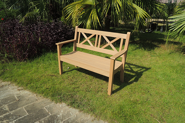 Maywick 2 Seater Bench in Teak  RRP: £319.00