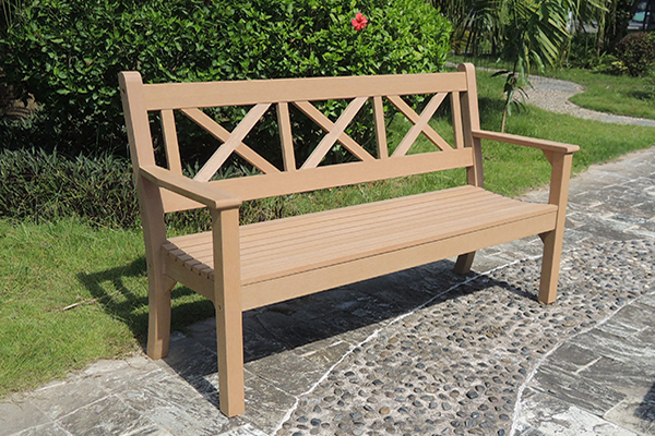 Maywick 3 Seater Bench in Teak  RRP: £399.00