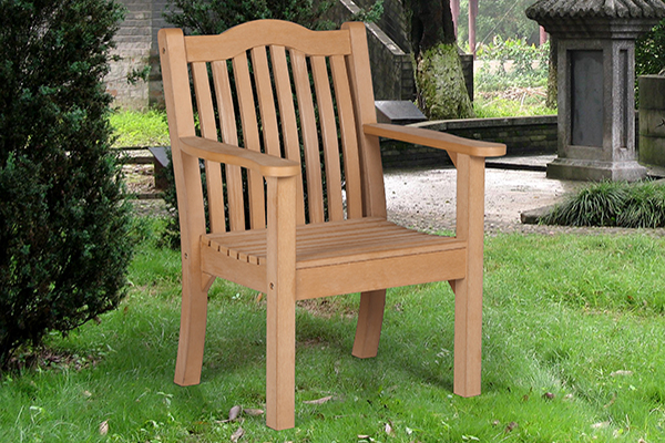 Netherley Armchair in Teak  RRP: £239.00