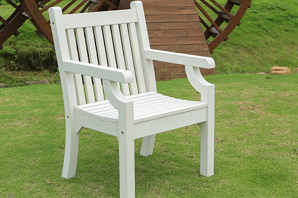 Sandwick Armchair in White RRP: £239.00