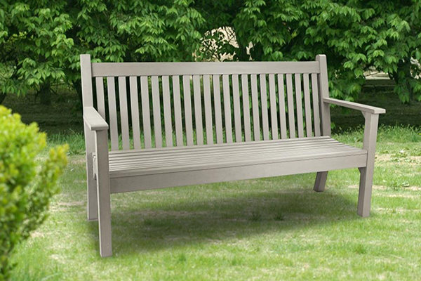 Colvister 3 Seater Bench in Grey   RRP: £399.00