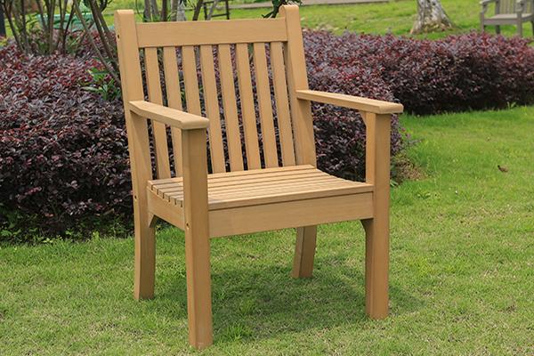 Colvister Armchair in Teak RRP: £239.00