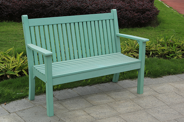 Colvister 2 Seater Bench in Duck Egg Green  RRP: £319.00