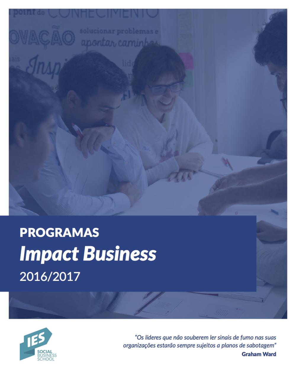Apresentação dos Programas Impact Business