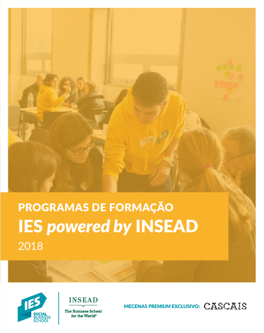 Apresentação da formação IES powered by INSEAD para 2018
