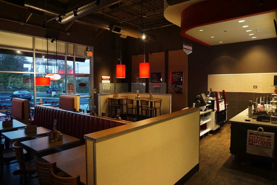 Smash Burger Restaurant Construction