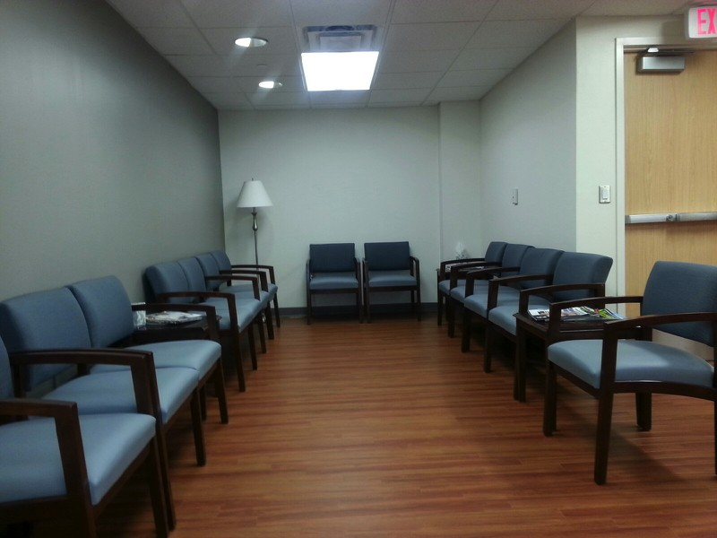 Lankenau Medical Center Waiting Area