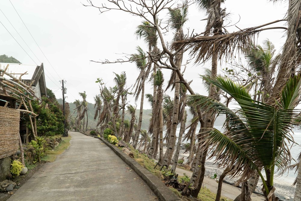 Residents of Diura Beach experience erratic weather changes.