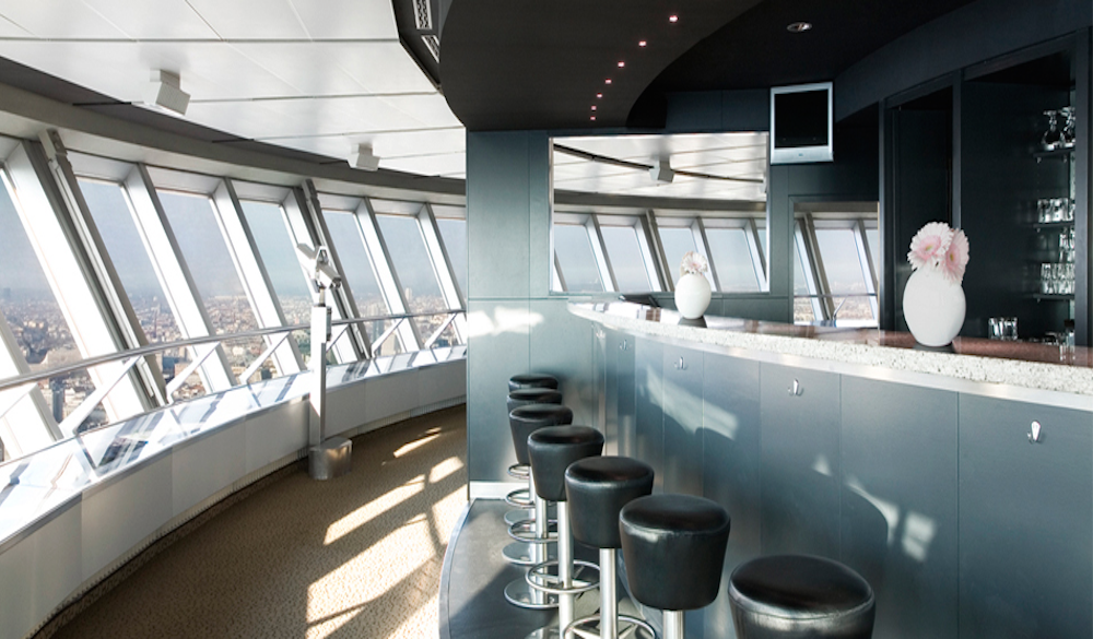 TV Tower Panorama Bar Image © Berliner Fernsehturm