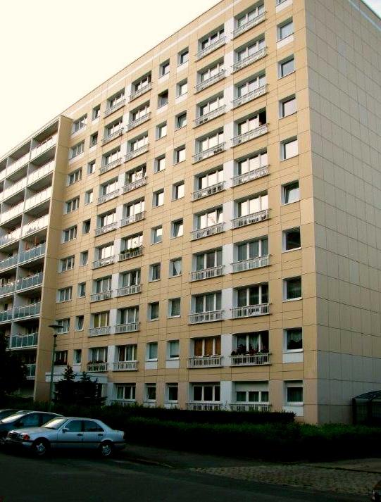 Plattenbau in Friedrichshain © berlin apartment