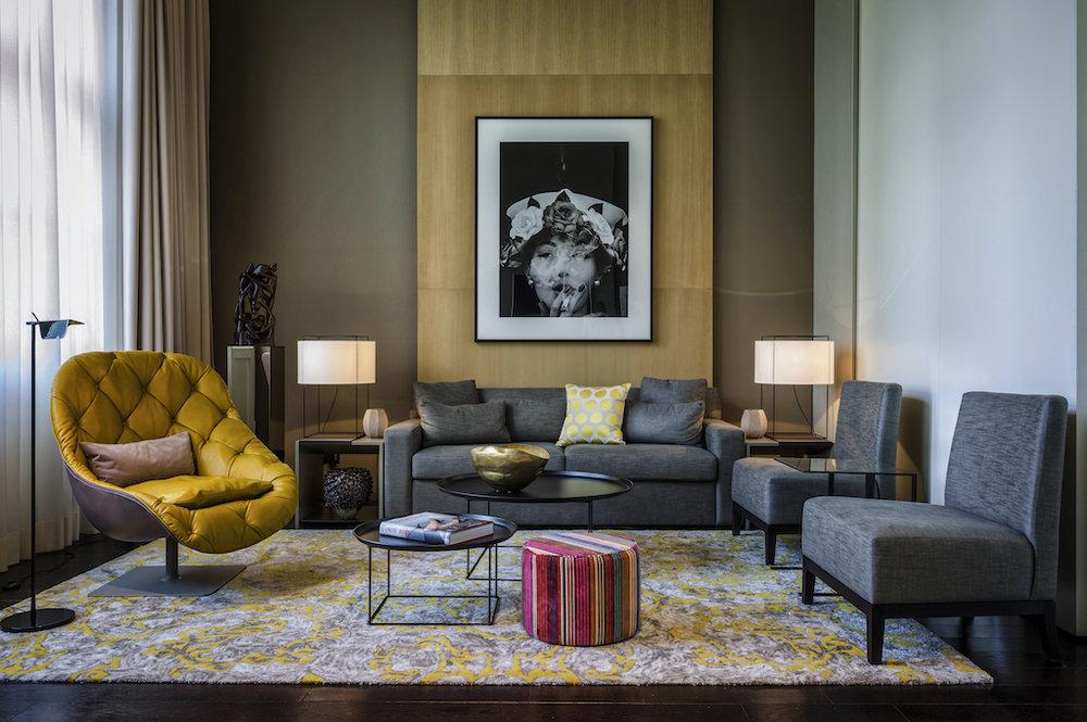 Das Stue Bel etage suite © Das Stue