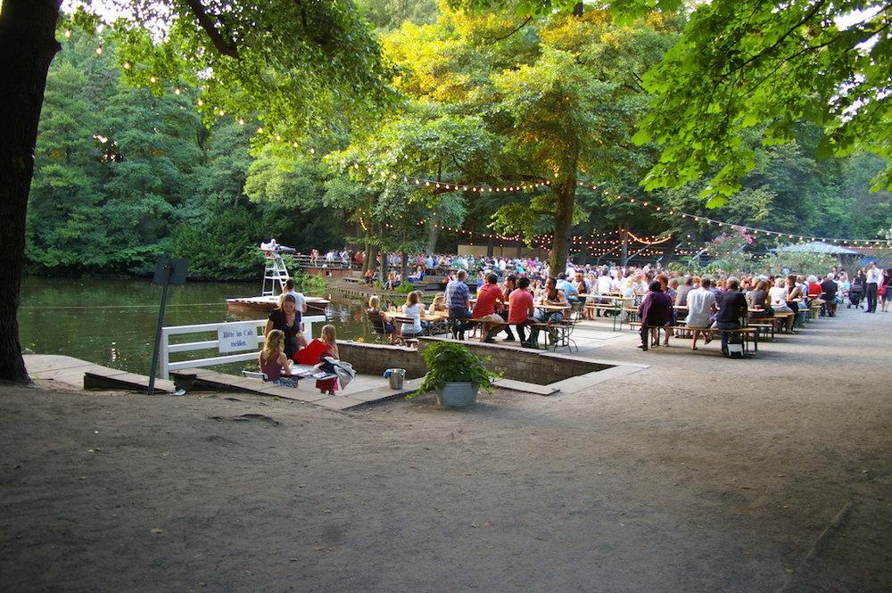 Neuer See in the Tiergarten