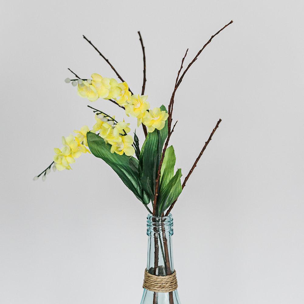 Yellow Flower & Stick Bundle  >>>$0.25 each<<<