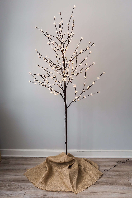 Free Standing Lighted Tree  height: 4 feet >>>$10.00<<<