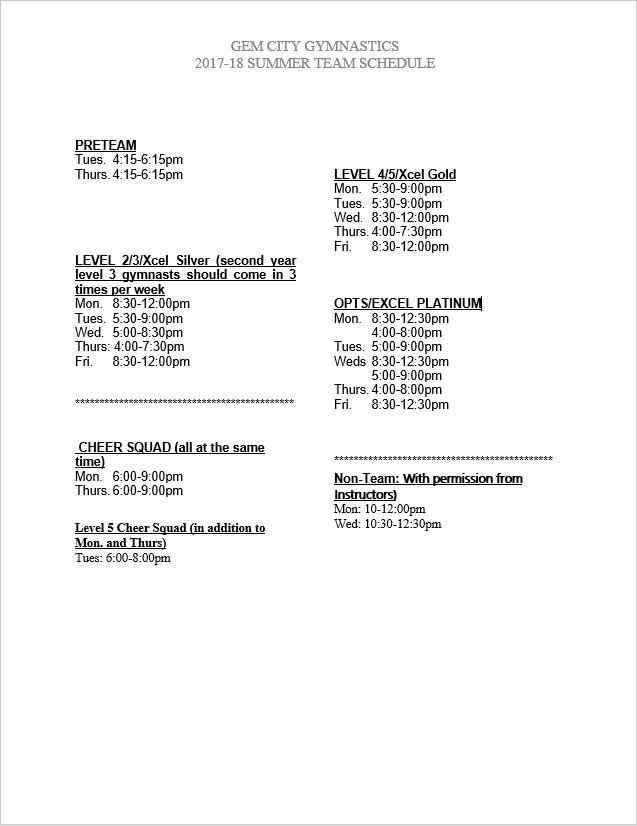 2018 Summer Class Schedule.PNG