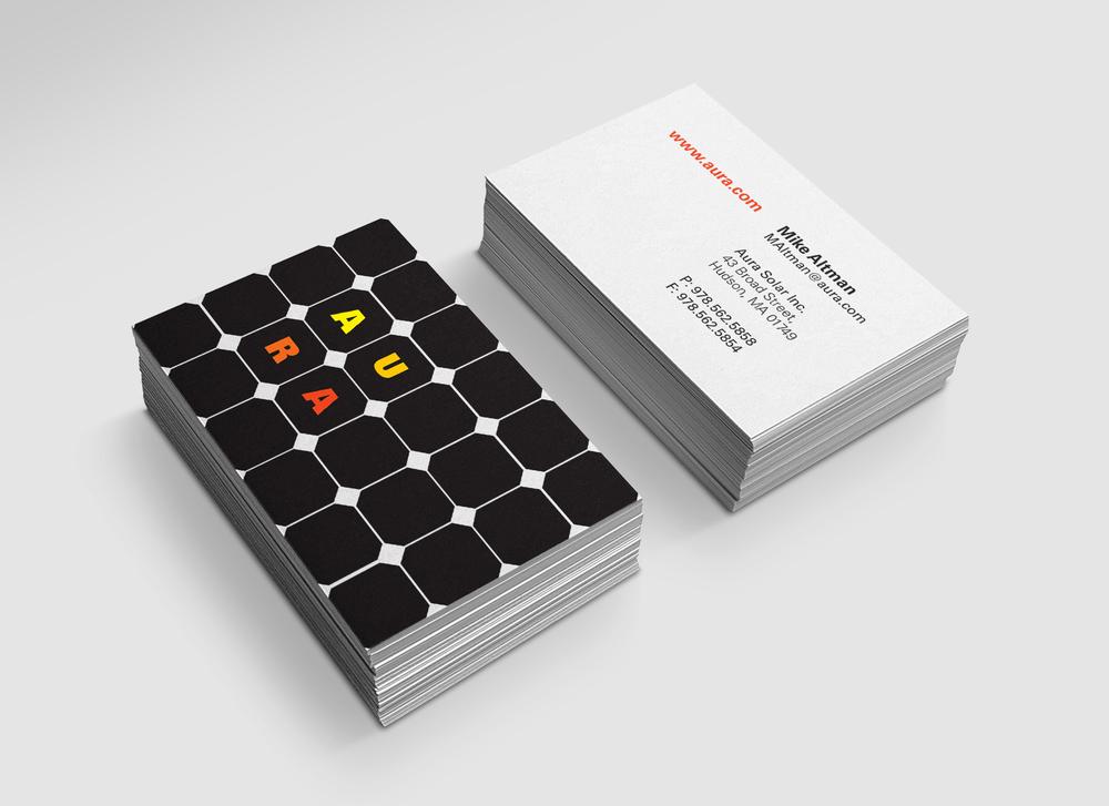 Identity: Aura Solar — Creatively Conspiring: Steven Walters Design