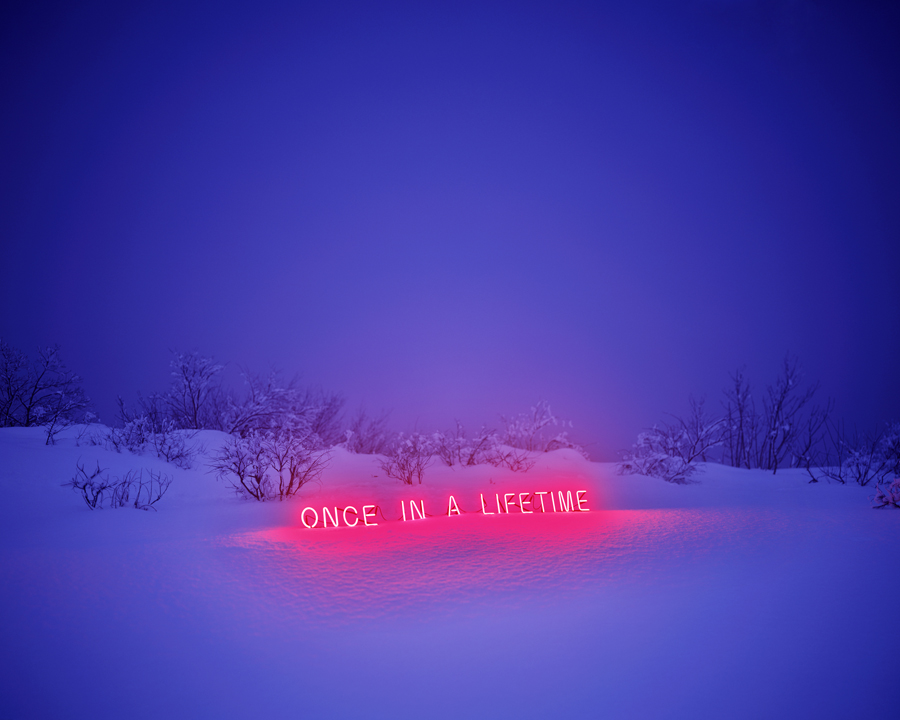 Jung Lee, Once In a Lifetime, 2011, C-type Print, 136 x 170 cm