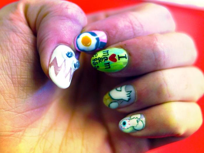Disco nail tokyo nail art ninu nina nails tokyo art prinsesfo Gallery