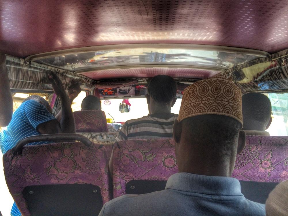 Matatu in Mombasa