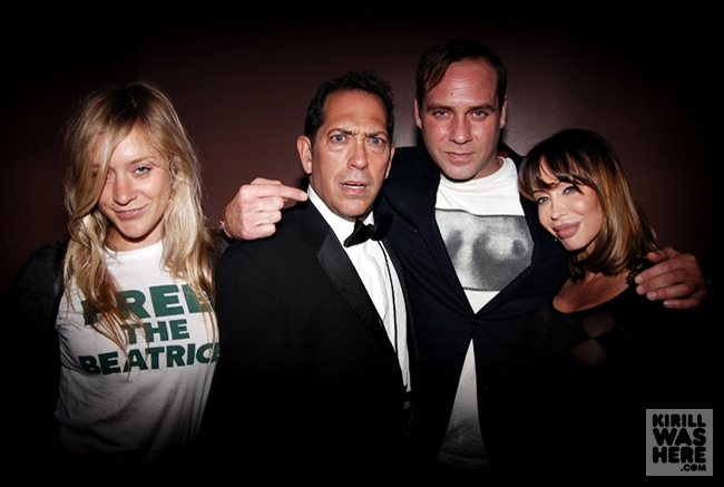 With Paul and Chloe Sevigny       www.kirillwashere.com
