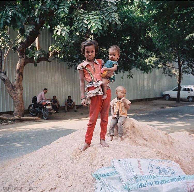 Children of Panchsheel Park - Delhi, September 2015.jpg