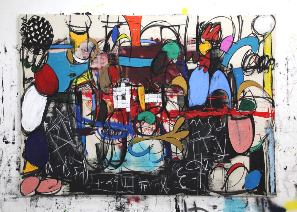 187 Another story of a rabbit and a turtule 110 x 155 cm.jpg