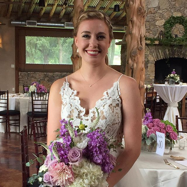 Our stunning bride tonight just before becoming #happilyeverhoban at #thebrooksatweatherford beauty by #lipservice #merrenevents #weatherfordbrides #dfwweddingplanner
